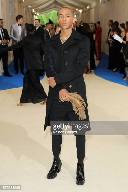 "Jaden Smith attends the ""Rei Kawakubo/Comme des Garcons: Art Of The In-Between"" Costume Institute Gala at Metropolitan Museum of Art on May 1, 2017..."
