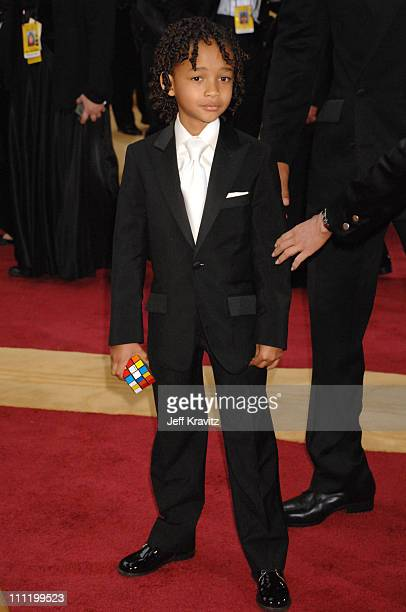 Jaden Smith during The 79th Annual Academy Awards Arrivals at Kodak Theatre in Hollywood California United States
