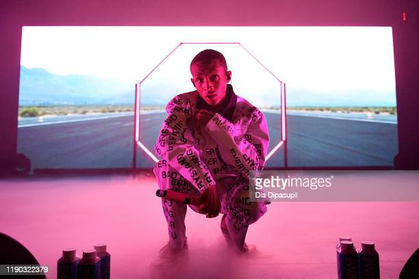 Jaden Smith performs onstage during The Willow Erys Tour at Terminal 5 on November 26 2019 in New York City
