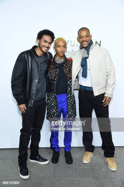 Jaden Smith Will Smith and a guest attend the Opening Of The Louis Vuitton Boutique as part of the Paris Fashion Week Womenswear Spring/Summer 2018...