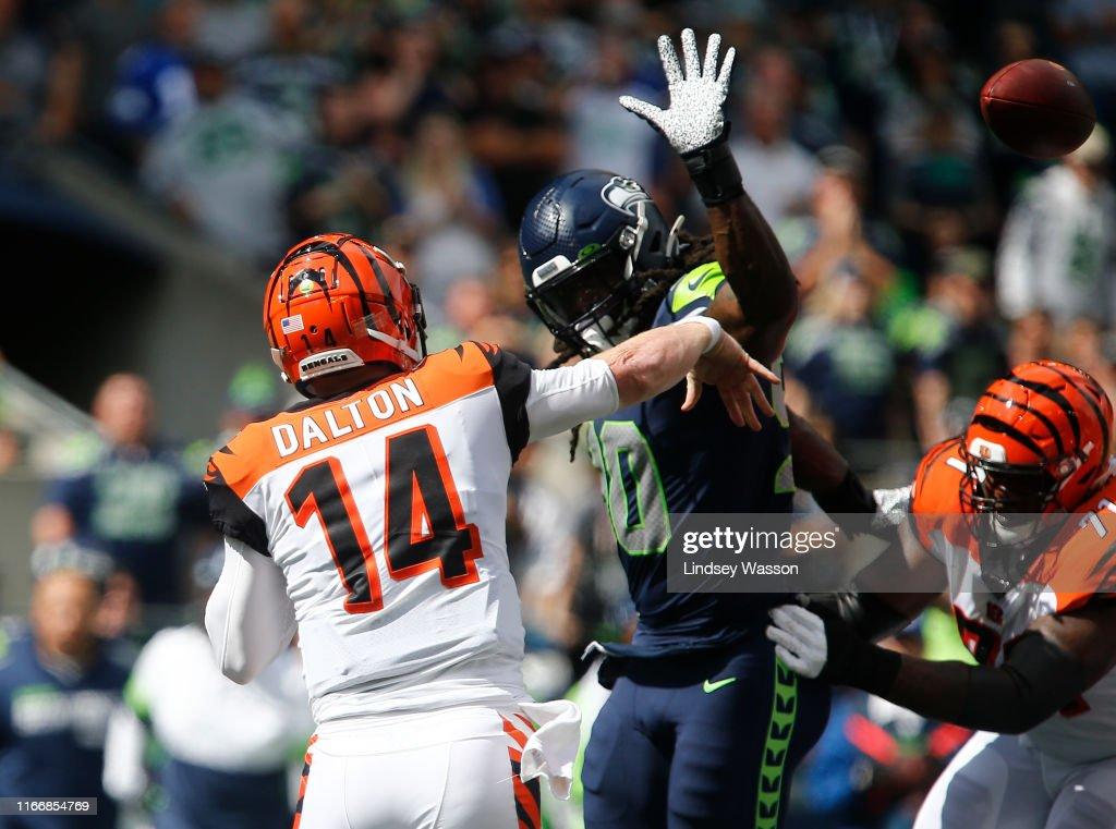 Cincinnati Bengals vSeattle Seahawks : News Photo