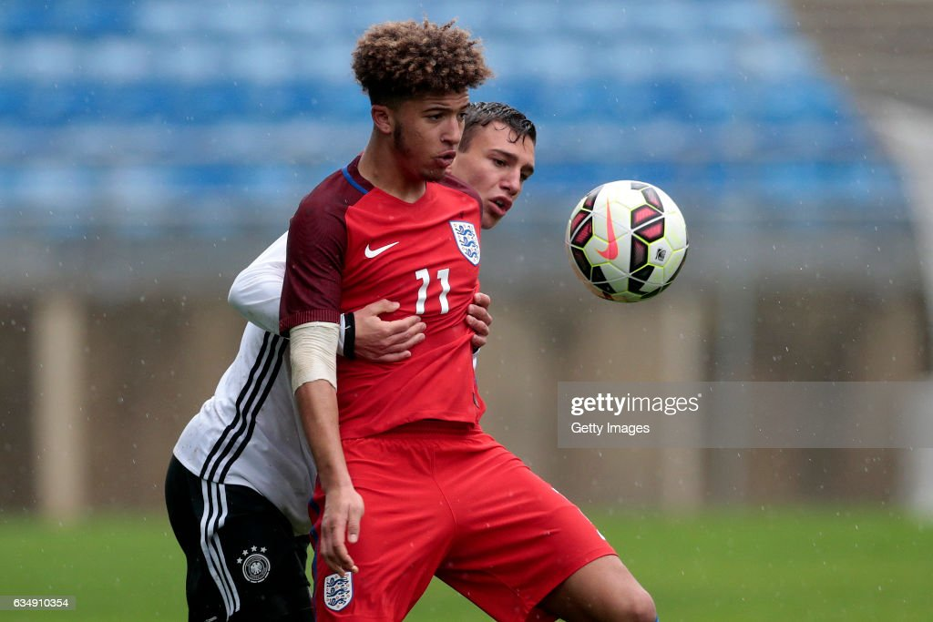 Jadon Sancho was voted the best player at the U-17 European Championships this summer. (Photo by Filipe Farinha/Getty Images)