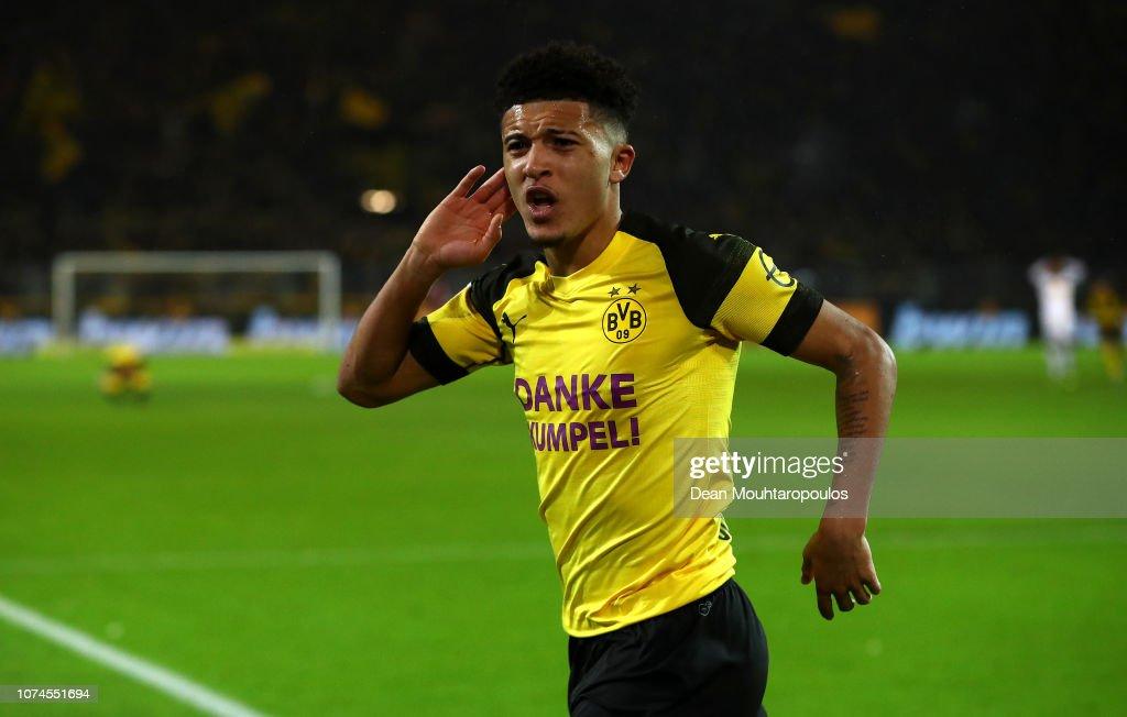 Borussia Dortmund v Borussia Moenchengladbach - Bundesliga : News Photo