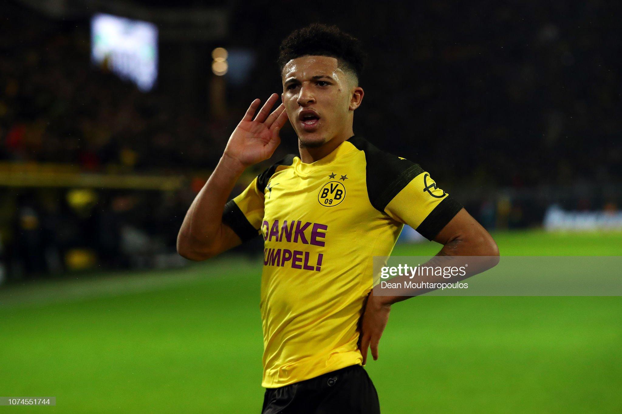 Borussia Dortmund v Borussia Moenchengladbach - Bundesliga : ニュース写真