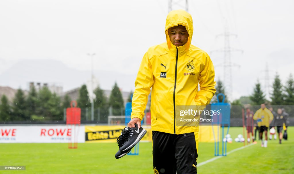 Borussia Dortmund Bad Ragaz Training Camp : News Photo