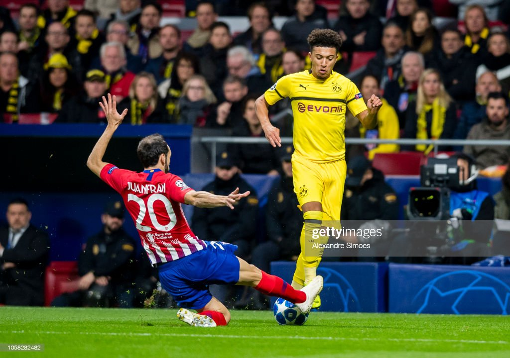 Club Atletico de Madrid v Borussia Dortmund - UEFA Champions League Group A : News Photo