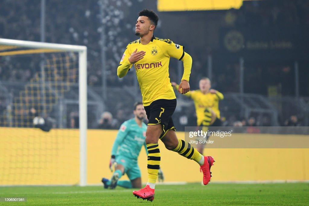 Borussia Dortmund v Eintracht Frankfurt - Bundesliga : ニュース写真