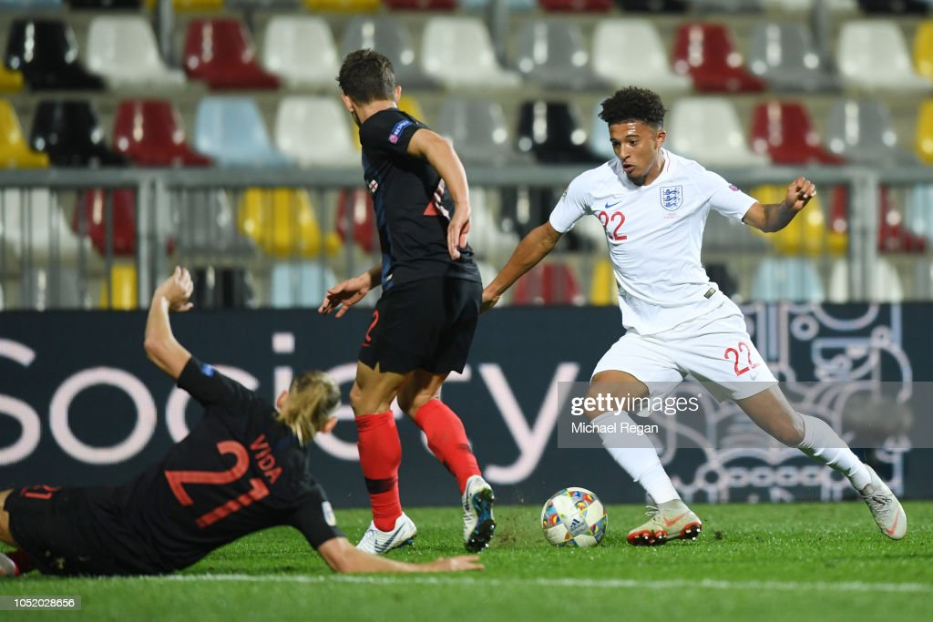 Croatia v England - UEFA Nations League A : News Photo