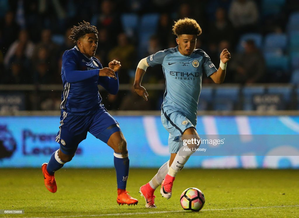 Manchester City v Chelsea - FA Youth Cup Final: First Leg