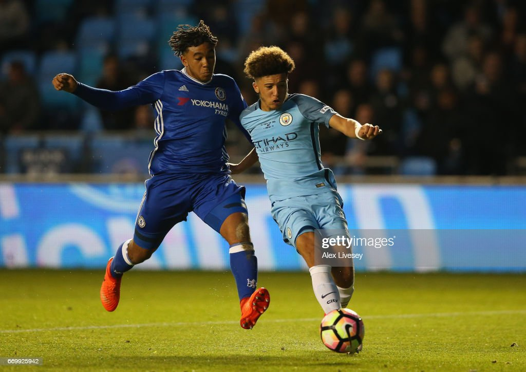 Manchester City v Chelsea - FA Youth Cup Final: First Leg : News Photo