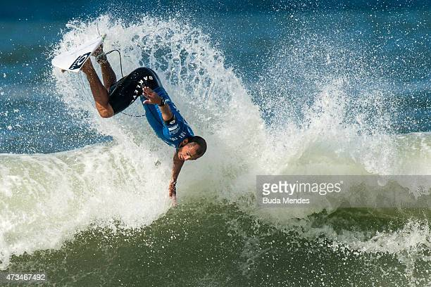 Jadson Andre of Brazil surfs during his Round 3 heat at the Oi Rio Pro on May 15 2015 in Rio de Janeiro Brazil