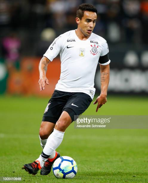 Jadson of Corinthians in action during the match between Corinthians and Cruzeiro for the Brasileirao Series A 2018 at Arena Corinthians Stadium on...