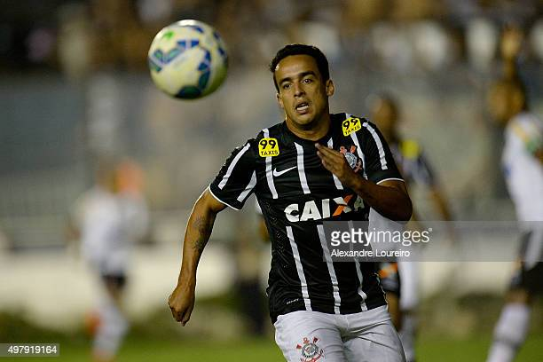 Jadson of Corinthians in action during the match between Vasco and Corinthians as part of Brasileirao Series A 2015 at Sao Januario Stadiumon...