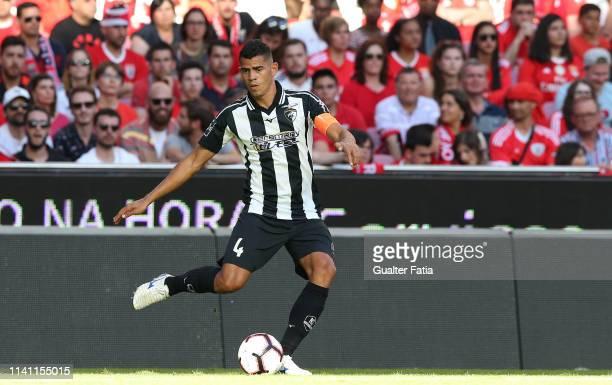 Jadson of Portimonense SC in action during the Liga NOS match between SL Benfica and Portimonense SC at Estadio da Luz on May 4, 2019 in Lisbon,...