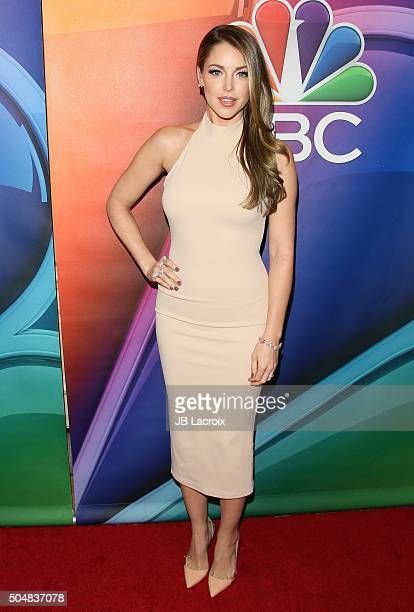 Jadyn Douglas attends the Winter TCA Tour NBCUniversal Press Tour at the Langham Huntington Hotel on January 13 2016 in Pasadena California