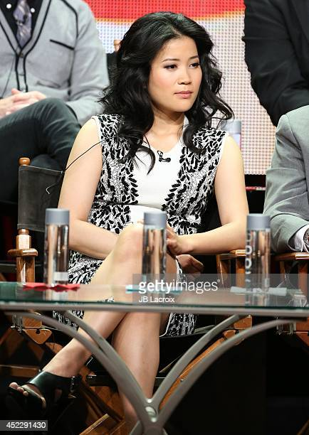 Jadyn Wong attends the 2014 Summer Television Critics Association at The Beverly Hilton Hotel on July 17 2014 in Beverly Hills California
