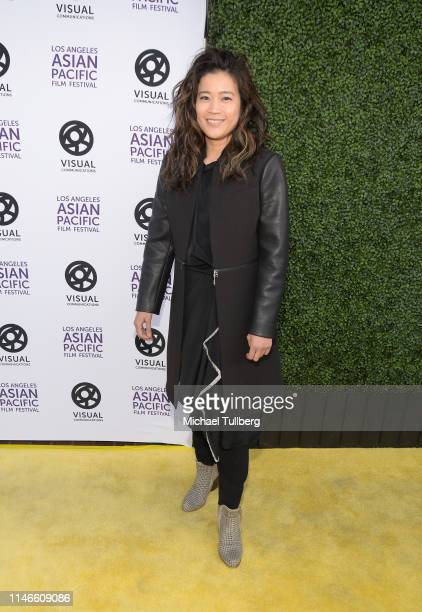 Jadyn Wong attends the 35th Los Angeles Asian Pacific Film Festival opening night gala premiere of Yellow Rose on May 02 2019 in Los Angeles...
