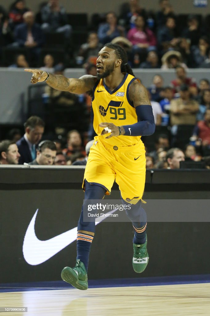 new products 876ff 468a7 Jae Crowder of the Utah Jazz reacts against the Orlando ...