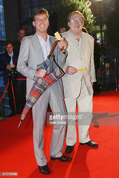 """Jaecki Schwarz and Hagen Henning attend the """"First Steps Awards 2004"""" - awarded for German-language films and commercials made by young and emerging..."""