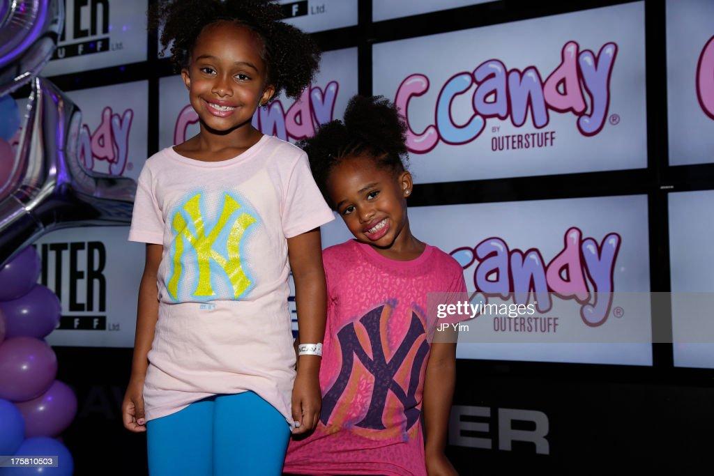 CCandy Children's Clothing Line Launch : News Photo