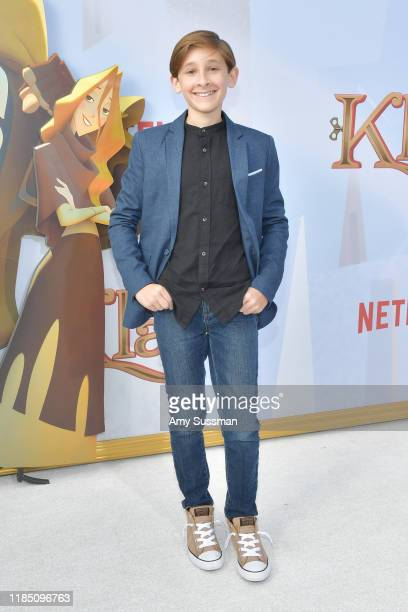 Jaeden Bettencourt attends the premiere of Netflix's Klaus at Regency Village Theatre on November 02 2019 in Westwood California