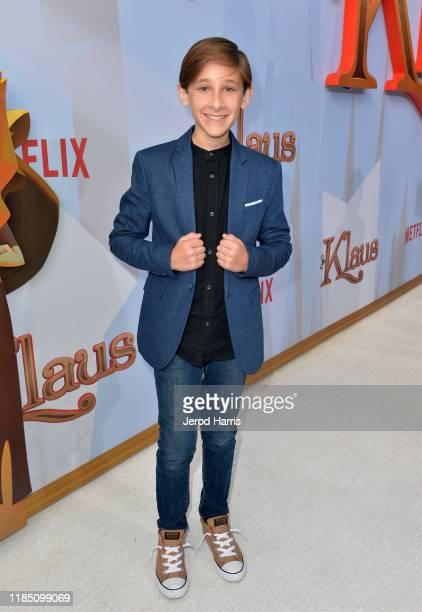 Jaeden Bettencourtattends Netflix's 'Klaus' Los Angeles Premiere at Regency Bruin Theater on November 02 2019 in Westwood California