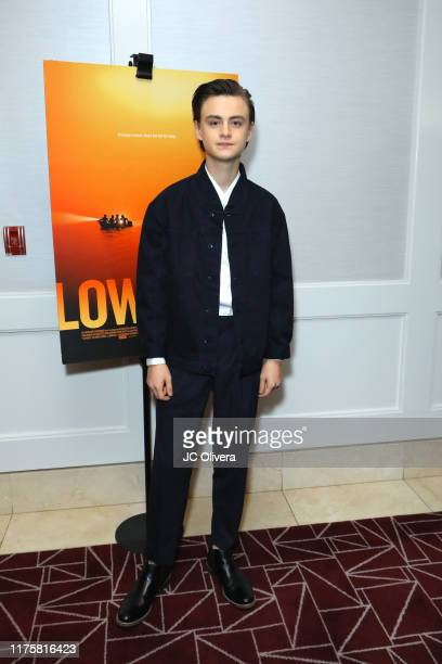 Jaeden Martell attends a special screening of A24's 'Low Tide' at The London Hotel on September 19, 2019 in West Hollywood, California.