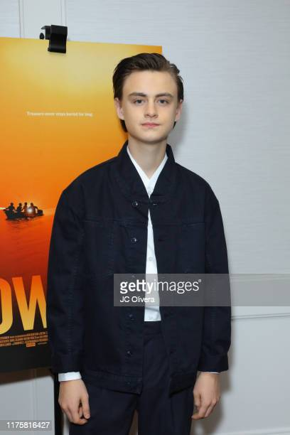 Jaeden Martell attends a special screening of A24's 'Low Tide' at The London Hotel on September 19 2019 in West Hollywood California