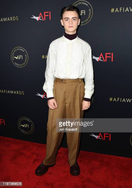 Jaeden Martell attends the 20th Annual AFI Awards at Four Seasons Hotel Los Angeles at Beverly Hills on January 03 2020 in Los Angeles California