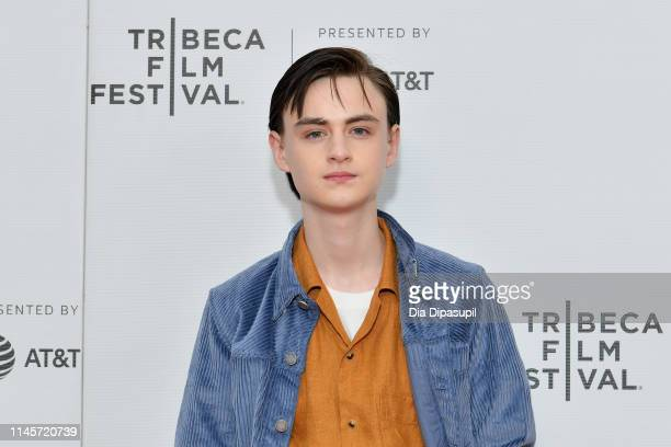 Jaeden Martell attends the Low Tide screening during the 2019 Tribeca Film Festival at Village East Cinema on April 28 2019 in New York City