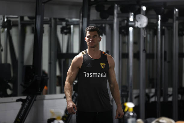 AUS: Hawthorn Hawks Weights Training Session