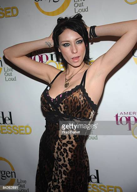 Jael Strauss Attends The Launch Party For Americas Next Top Model At Picture Fr