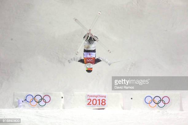 Jaelin Kauf of the United States competes during the Freestyle Skiing Ladies' Moguls Final on day two of the PyeongChang 2018 Winter Olympic Games at...