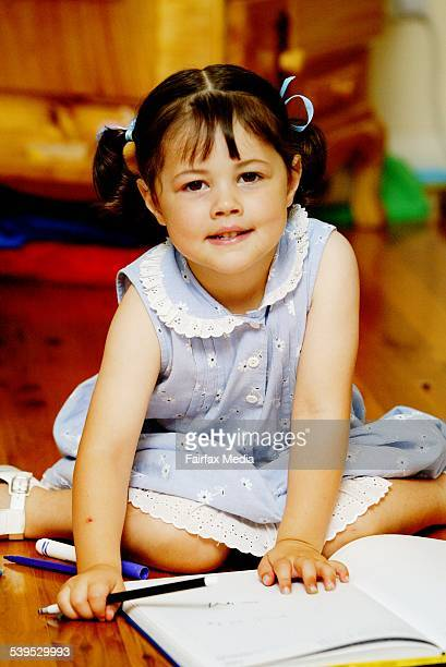 Jaelyn Mashiah suffered kawasaki which is the most common childhood heart disease 1 December 2004 SHD Picture by FIONALEE QUIMBY
