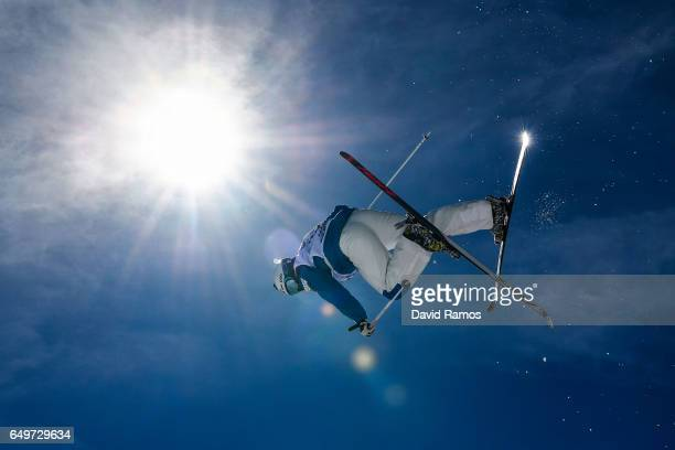 JaeWoo Choi of South Korea competes in the Men's Moguls qualification on day one of the FIS Freestyle Ski Snowboard World Championships 2017 on March...