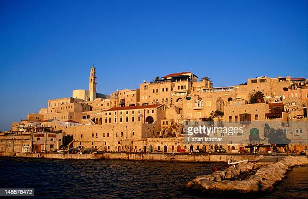 jaffa old city. - old town stock pictures, royalty-free photos & images