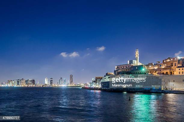 jaffa, the port and the town - tel aviv stock pictures, royalty-free photos & images