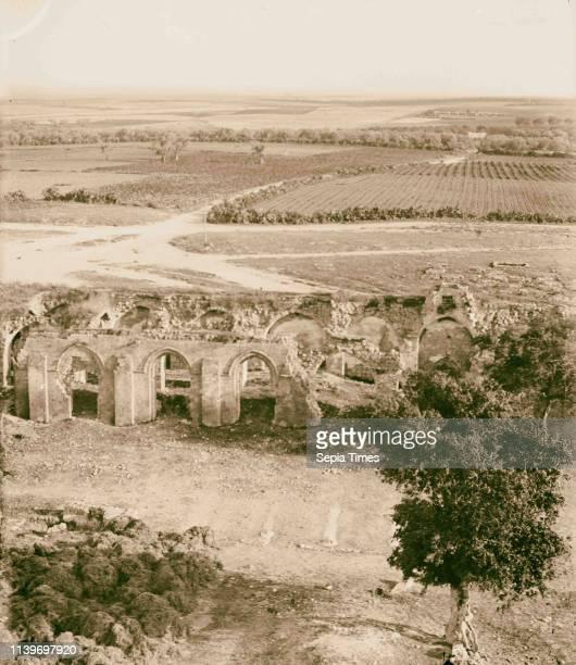 Jaffa to Jerusalem Plain of Sharon from the tower 1900 Israel Ramlah