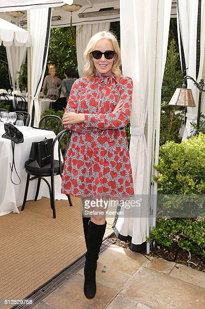 Jaffe Julie attends NETAPORTER Celebrates Women Behind The Lens at Chateau Marmont on February 26 2016 in Los Angeles California