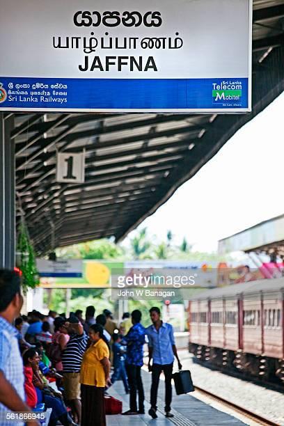 Jaffna Railway Station. Jaffna, Sri Lanka