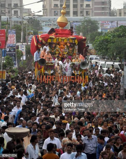 Jagannath Rath Yatra at Mira Road organised by ISKON