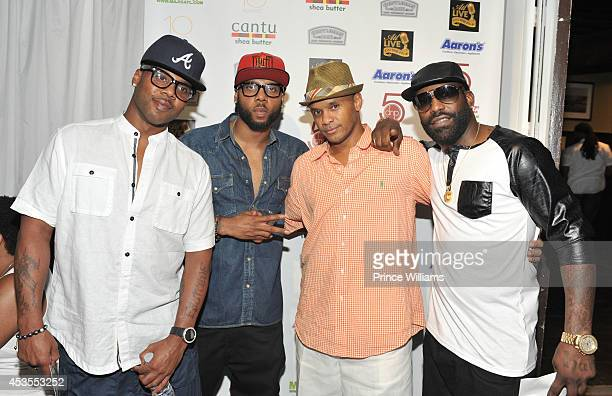Jagged Edge attends ATL live on the Park at Park Tavern on August 12, 2014 in Atlanta, Georgia.