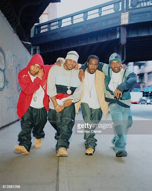 Jagged Edge rappers Kyle Norman, Richard Wingo, Brandon Casey and Brian Casey.