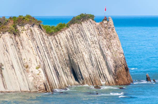 Jagged Rock, Haciveli Beach, Abana, Kastamonu, Black Sea Region, Turkey