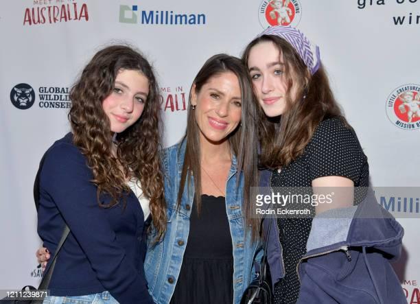 "Jagger Joseph Blue Goldberg, Soleil Moon Frye, and Poet Sienna Rose Goldberg attend ""Meet Me In Australia"" To Benefit Australia Wildfire Relief..."