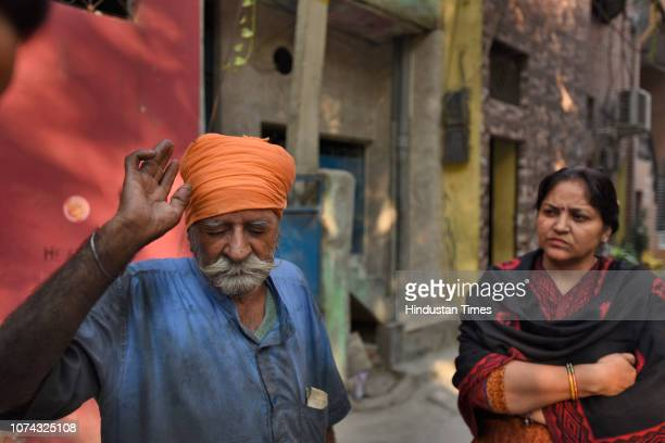 Jagjeet Singh and his daughter Bobby Singh survivors of the 1984 Sikh massacre tell their stories after the Delhi High Court sentenced Congress...
