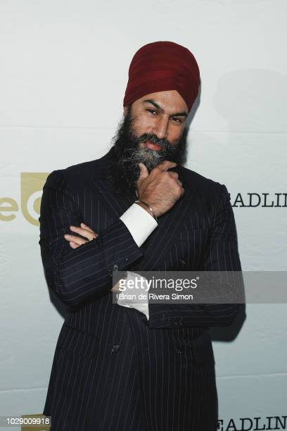 Jagmeet Singh attends eOne Best of the Fest TIFF 2018 Celebration at Assembly Chef's Hall on September 7 2018 in Toronto Canada