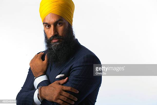 Jagmeet Singh Deputy Leader for the Ontario NDP Aparita Bhandari is bringing 5 fashionable Indian men to the Star for a photo shoot in the studio of...
