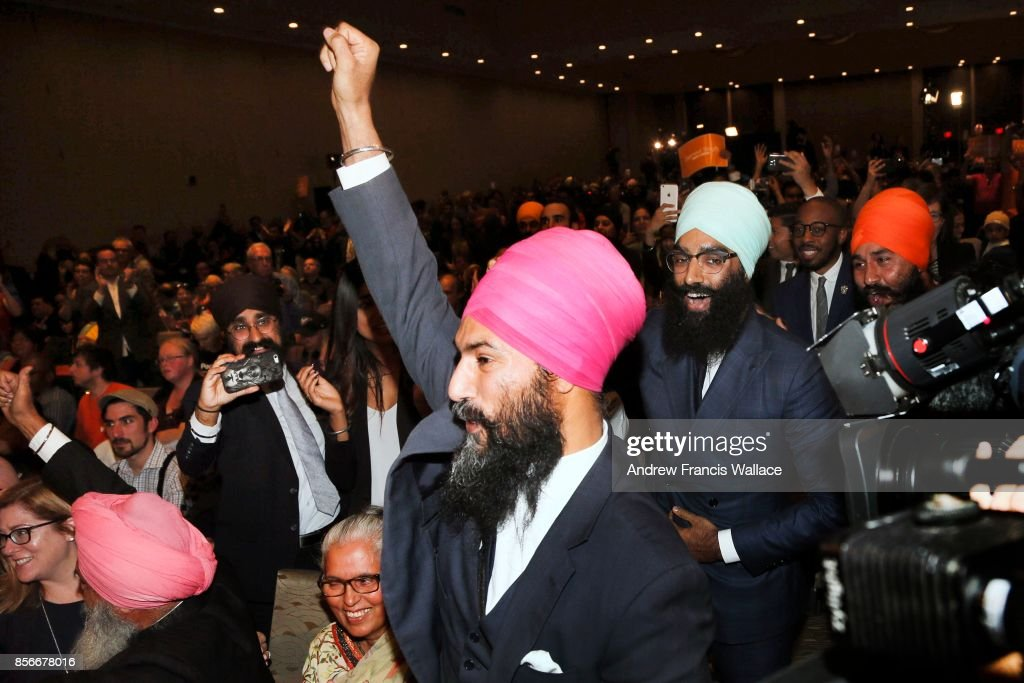 Jagmeet Singh wins NDP leadership : News Photo