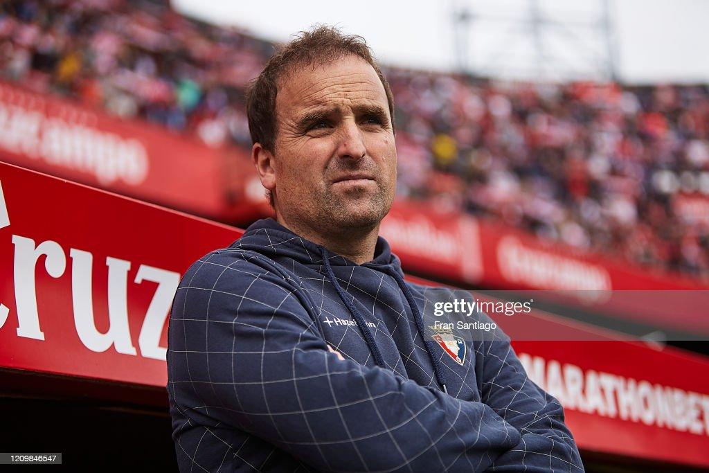 Sevilla FC v CA Osasuna  - La Liga : ニュース写真